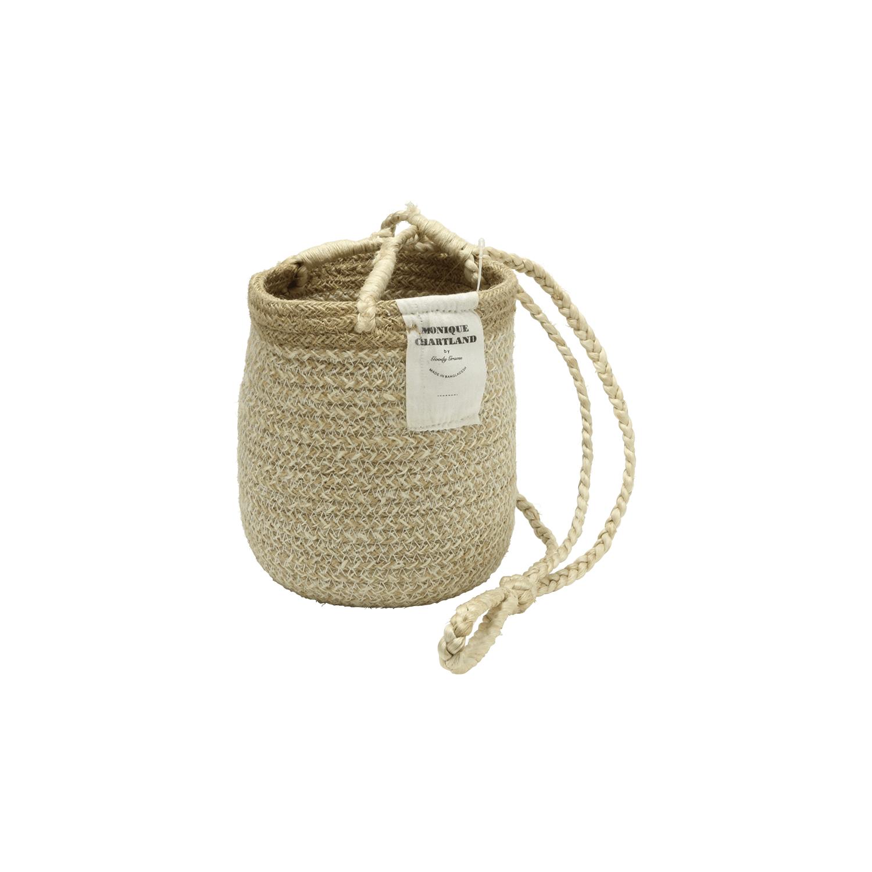 Jute Hanger Basket/Natural