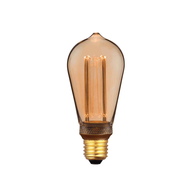 NOSTALGIA LED BULB LONG/Gold