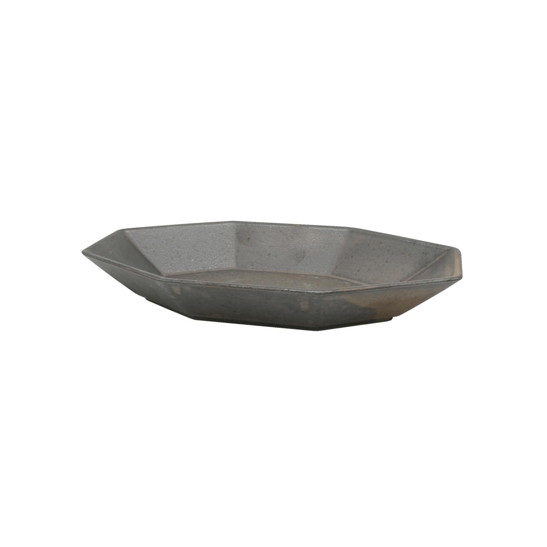 ANCIENT POTTERY Bowl L/Brass