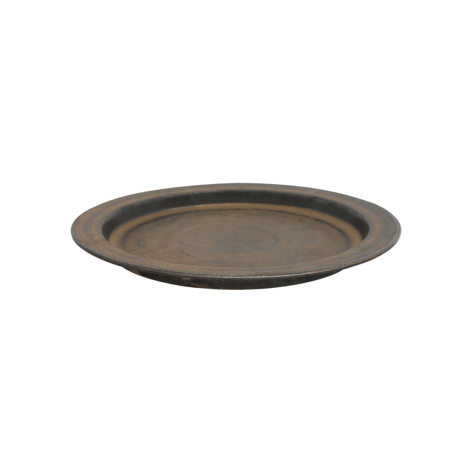 ANCIENT POTTERY Plate L/Brass