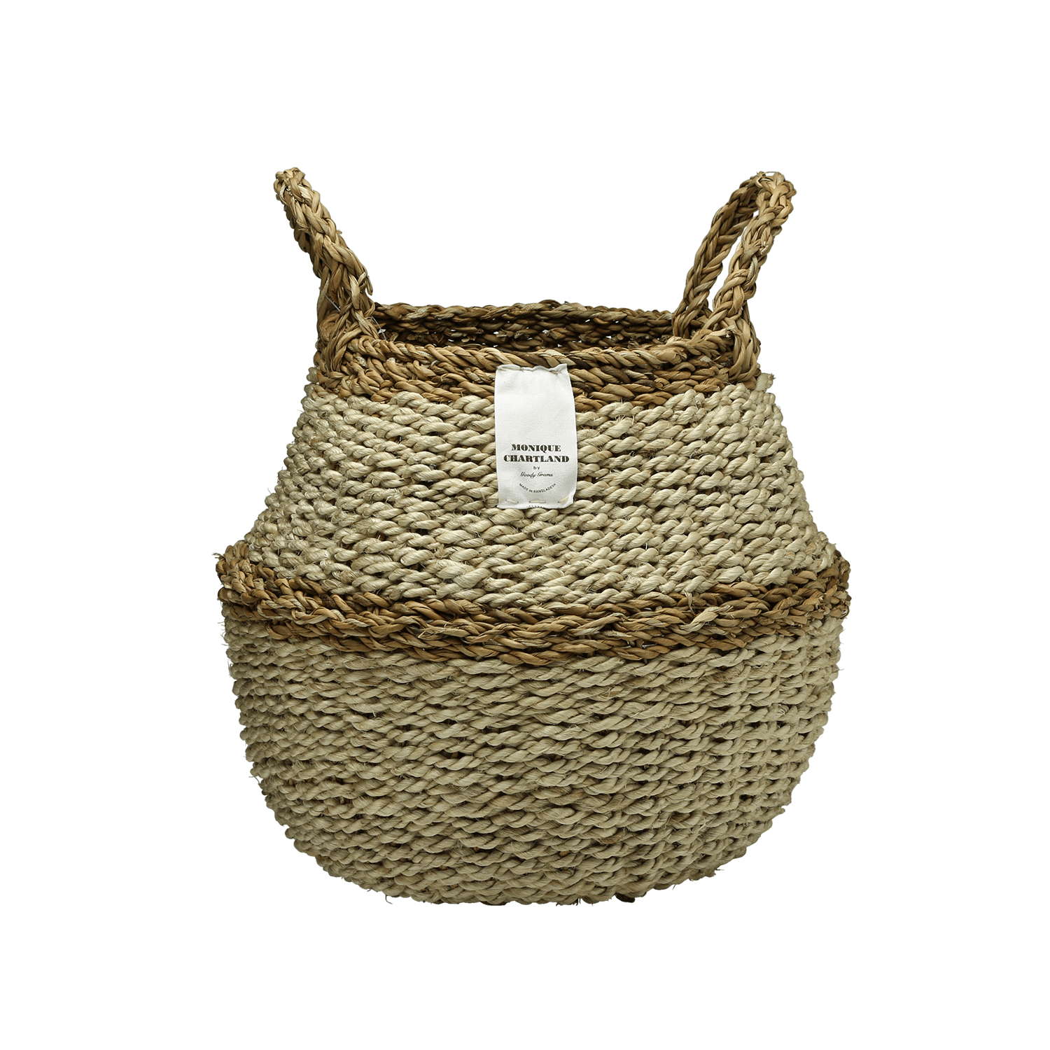 Rope Round Basket L