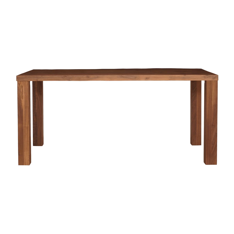 ウォールナット  無垢材 ストレート ハギ ダイニング テーブル