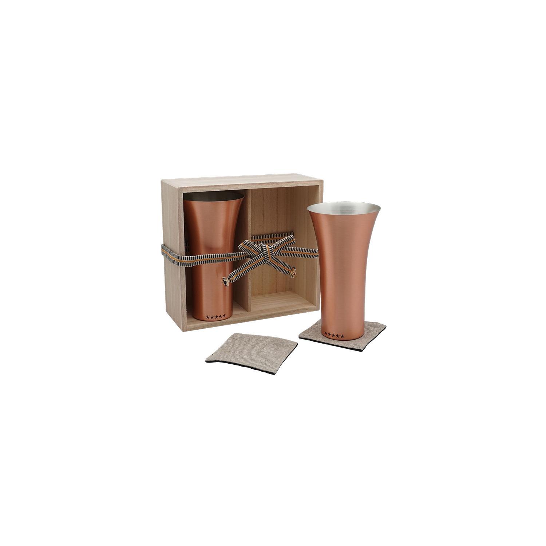 純銅製タンブラー2個セット